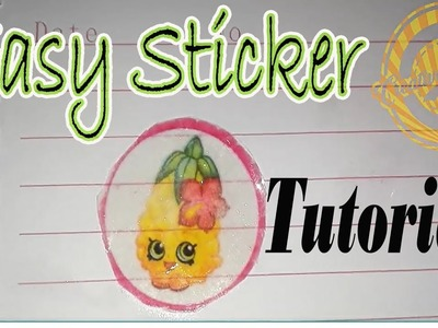 How to make stickers at home without sticker paper in realtime | Homemade Easy DIY | Creative Quack