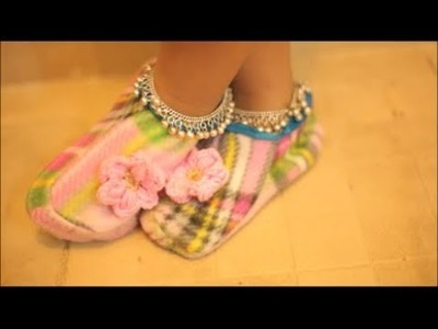 How to sew baby shoes |Recycle old clothes| Recycled Arts and Crafts