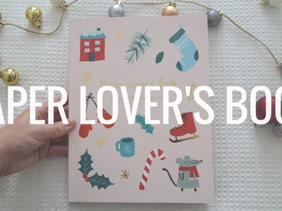 NEW Kikki.K Paper Lover's Book Flip Through - Christmas Collection