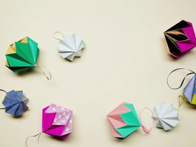 Paperchase - How to Make a Christmas Decoration