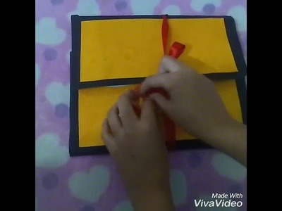The best folding scrapbook ever