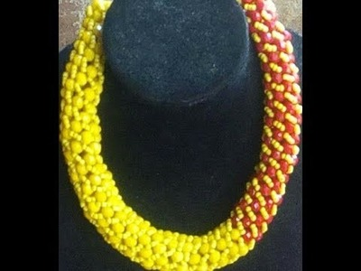 The tutorial on how to make this spiral bead