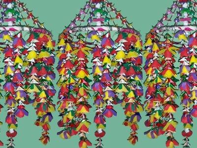 সপিং ব্যাগ দিয়ে সুন্দর ফুল তৈরি করুন How to Make a Beautiful Flower With Shopping Bags