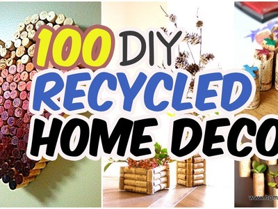 ???? 100 Insanely Creative DIY Recycled Home Decor Projects ???? Home Decor Ideas