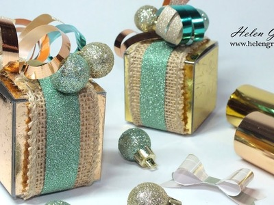 12th Day of Christmas | DIY Foiling On Treat Boxes