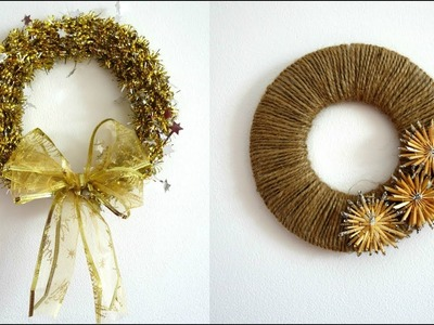3 AMAZING RECYCLED WINTER DECORATIONS | DIY CRAFTS FOR CHRISTMAS | MAISON ZIZOU