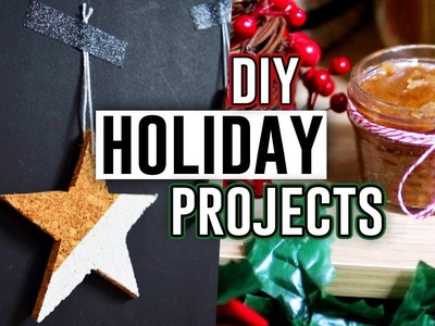 3 DIY LAST MINUTE GIFT IDEAS! DIY Holiday Projects 2017. Jill Cimorelli