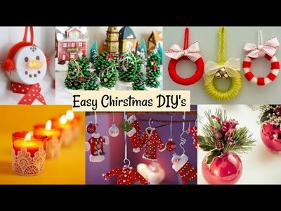 Best Out Of Waste: DIY Christmas Decoration ideas