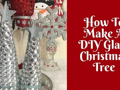 Christmas Crafts: DIY Glam Christmas Trees