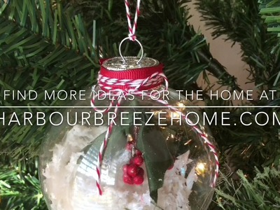 Christmas DIY & Decor Challenge - Winter Wonderland Ornament