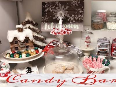 CHRISTMAS HOLIDAY CANDY ???? BAR | DIY HOT COCOA BAR| CUTE HOT COCOA DRINK!