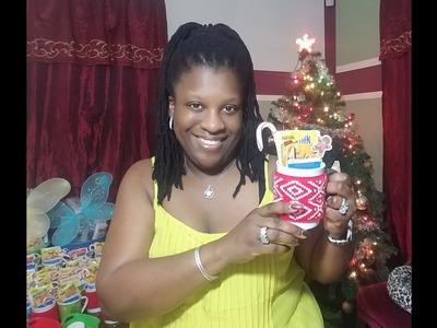 """Cozy Christmas Cup""☕| 2017 DIY Christmas Gift Ideas"