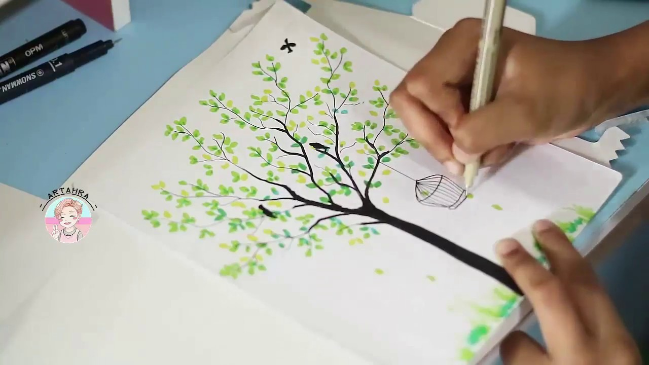 Diy Art Easy Draw Notebook Cover