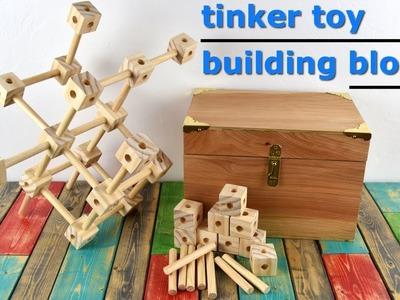 DIY Building Blocks   Tinker(ing) Toys   Christmas. Birthday Gift