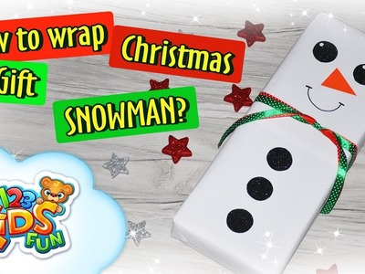 ???????? DIY by Creative Mom ???????? | How to Wrap Christmas Gift - Snowman???? ????