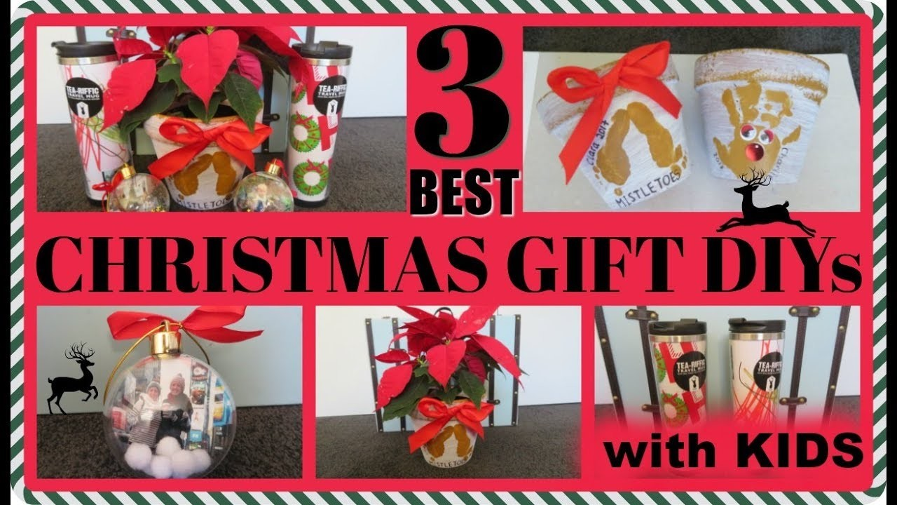 DIY CHRISTMAS GIFTS - 3 PERSONALISED GIFTS FOR UNDER $10 - BABY ...