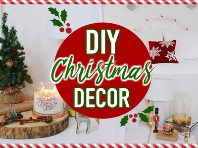 DIY Christmas Room Decor! Cheap & Easy Ways To Decorate Your Room!