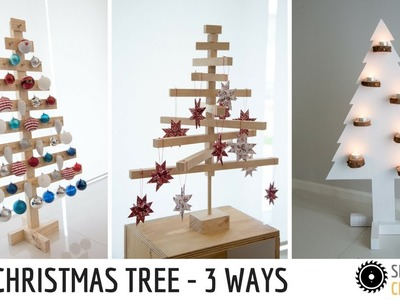 DIY | Christmas Tree - 3 ways