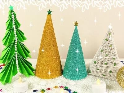 DIY CHRISTMAS TREE DECOR 2017! Easy Holiday Decor - Sparkly Tree