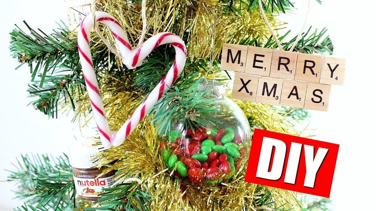 DIY CHRISTMAS TREE ORNAMENTS & DECORATIONS | 25 DIYs Of Christmas Day 4