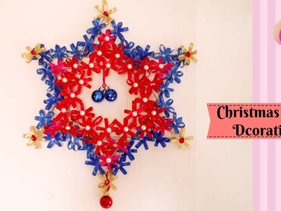 DIY - Christmas wall dcoration ideas - Homemade wall decoration ideas - Living room wall decoration