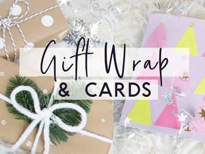 DIY Gift Wrap Hacks and DIY Christmas Cards ???? Budget Friendly Gift Wrapping Ideas