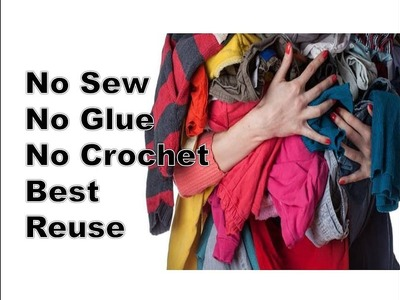 DIY Home Decorating Idea | Best out of Waste ragrug | Reuse Old T-shirts | Old Cloth use | Recycling