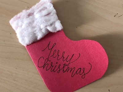 DIY: Homemade Christmas Card DIY Crafts for Kids