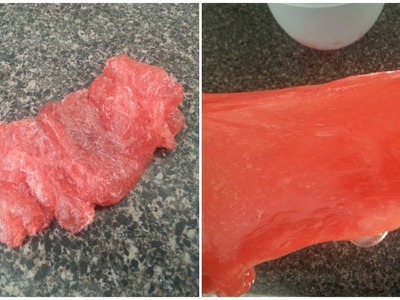 DIY How To Fix An Overactivated Slime   How To Fix Slime That Has Too Much Activator