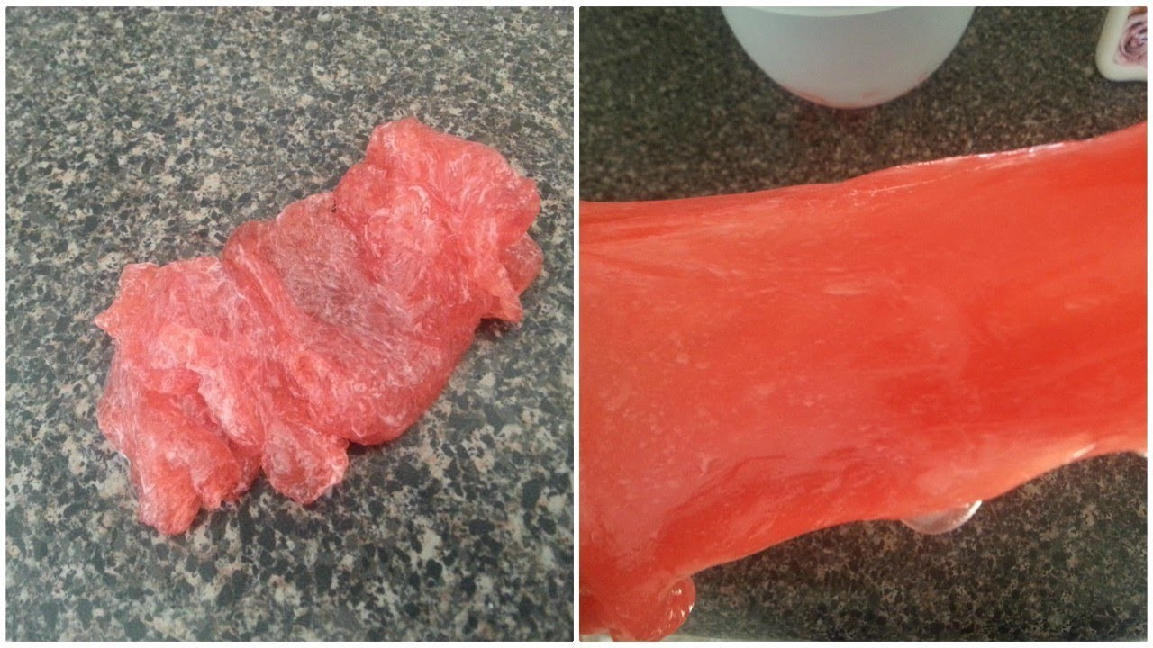 DIY How To Fix An Overactivated Slime | How To Fix Slime That Has Too Much Activator