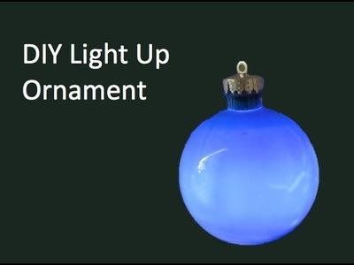 DIY Light Up Ornament