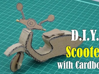 DIY: Scooter with Cardboard