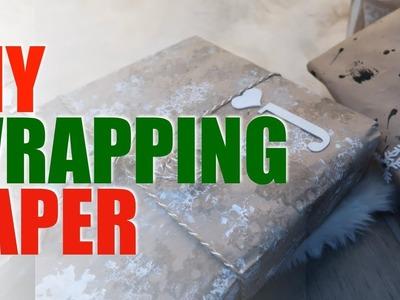 DIY Wrapping Paper | VLOGMAS DAY 12