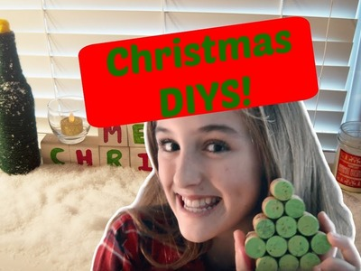 Easy Christmas DIY Projects. Glitter Glamm