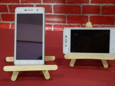 Easy mobile phones stand | Phone holder with ice cream stick | diy mix crafts