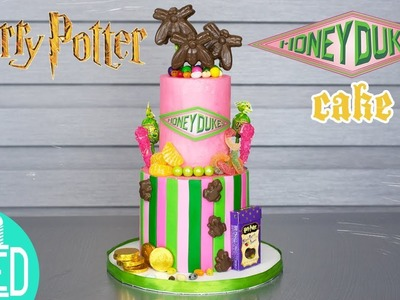 HONEYDUKES CAKE from HARRY POTTER! | Harry Potter Party Ideas | DIY and How to