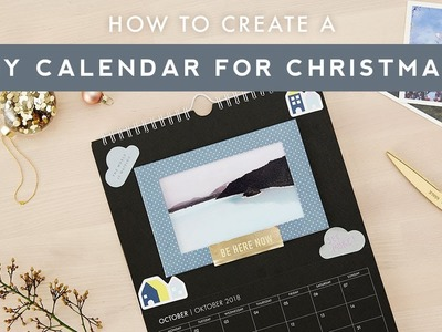 How to Create a DIY Calendar for Christmas