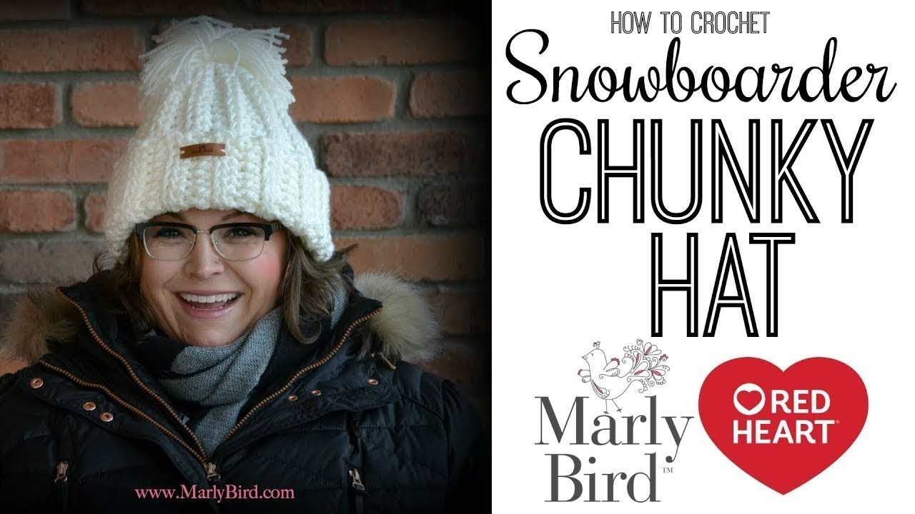 How to Crochet Snowboarder Chunky Hat