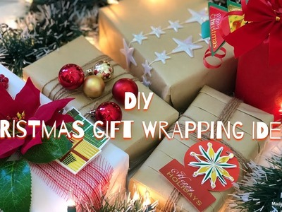 How to wrap gift| 5 Easy & Affordable Christmas Gift Wrapping Ideas|| Bee Kreative | Payal Bhalani