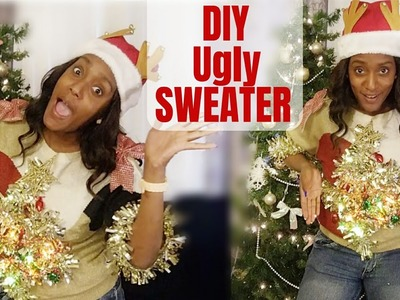 Making Ugly Christmas Sweaters. DIY Ugly Sweaters (collab). Ugly Holiday Sweaters
