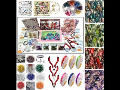 Online Art Classes | Introduction of DIY and Jewelry Making Material and Haul | Step by Step