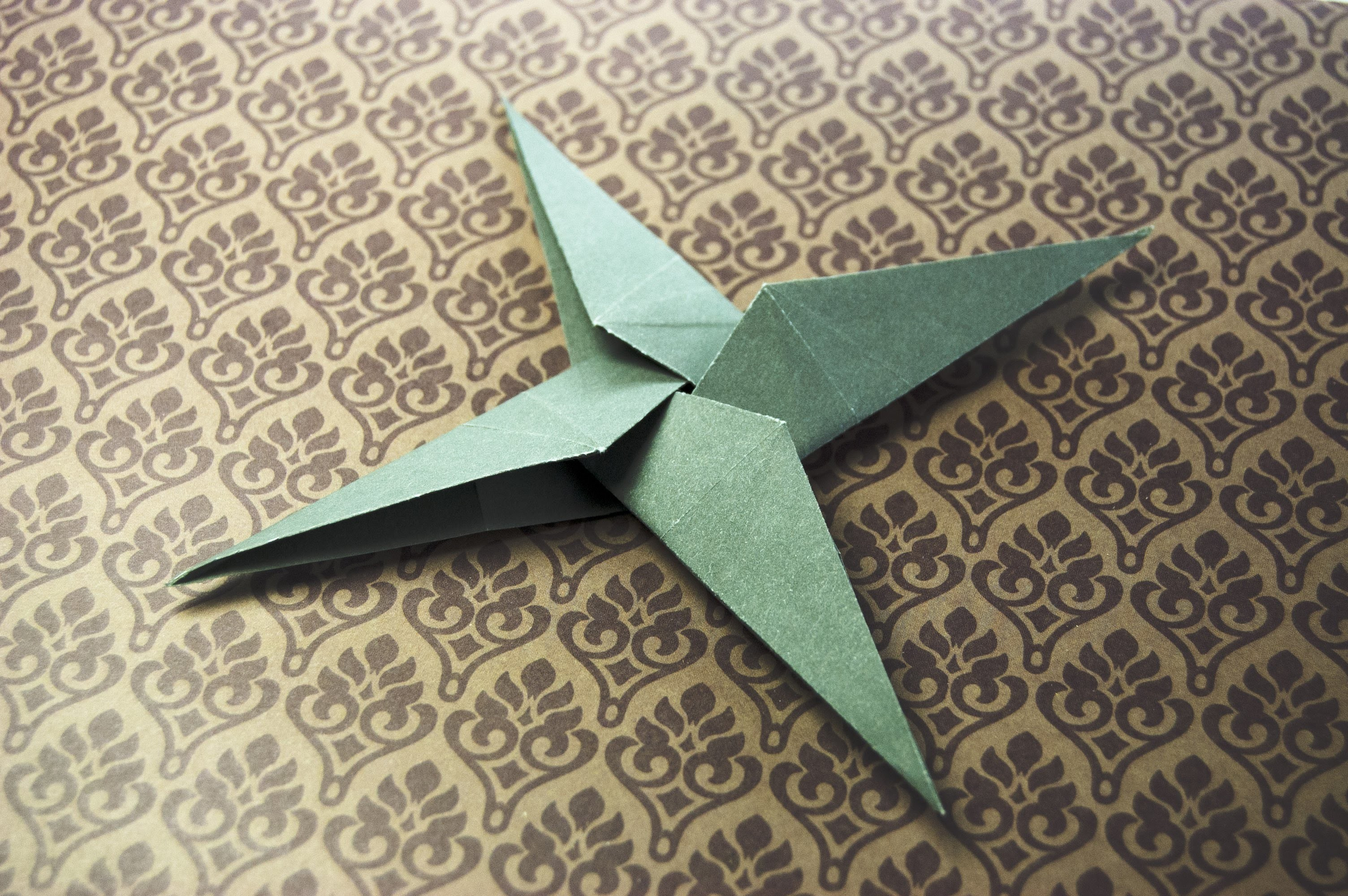 Square, How To Make A 16-Pointed Ninja Star Out Of Paper ... - photo#25