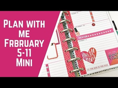Plan with Me- Mini Happy Planner- February 5-11