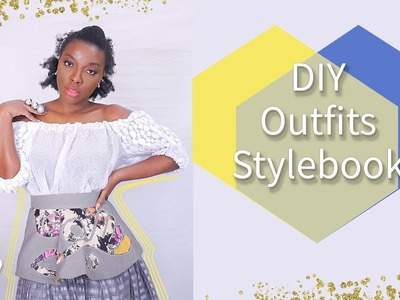 5 OUTFITS I'VE MADE | DIY CHRISTMAS PARTY STYLEBOOK | KIM DAVE