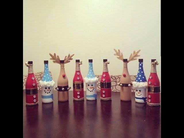 81 Ideas Christmas Decoration Using Plastic Bottles Diy
