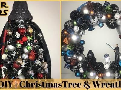 CHRISTMAS DIY & DECOR CHALLENGE | Star Wars Theme Christmas Tree & Wreath