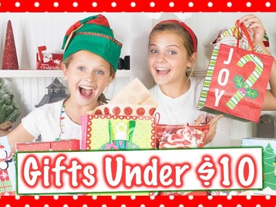 DIY Christmas Gifts Under $10 + Cute Holiday Gifts For Your Friends | Marissa and Brookie