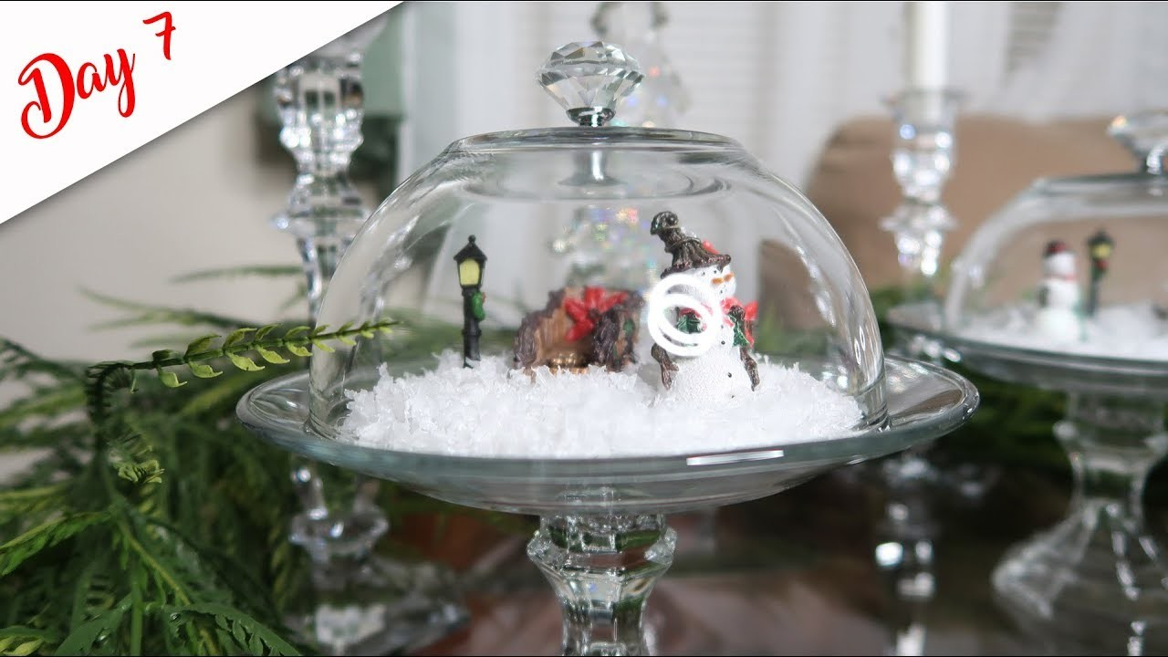 DIY Decorative Cloches for Miniature Settings