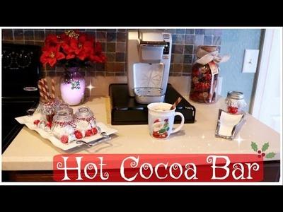 DIY Hot Chocolate Bar | Keurig K-Mini | Christmas Decor Ideas | 12 Days of Christmas | Leann DuBois