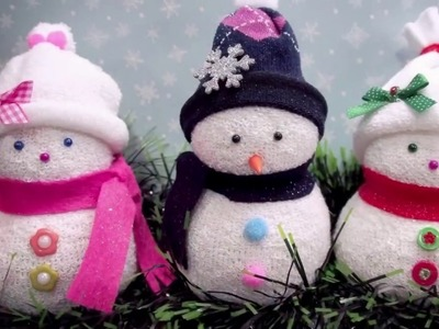 DIY Mini Snowman Ideas | How to Make Creative Mini Snowman for Christmas and Winter Decorations